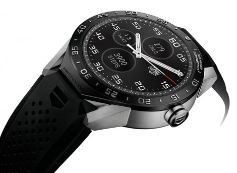 TAG Heuer Connected smartwatch black