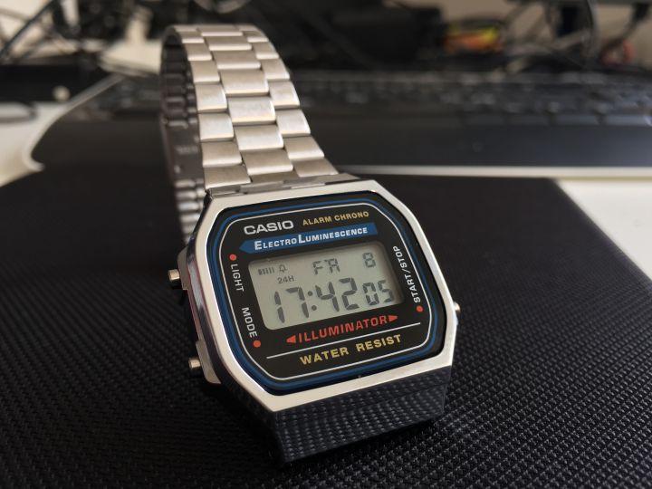Casio retro watch A168 02