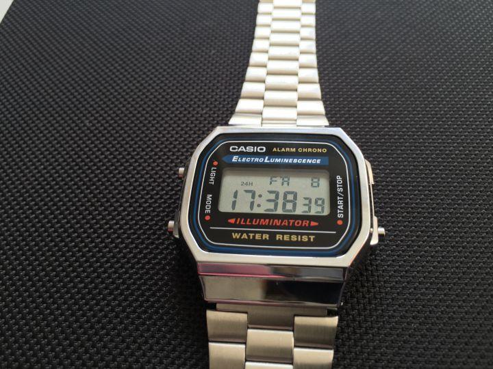 Casio retro watch A168 03