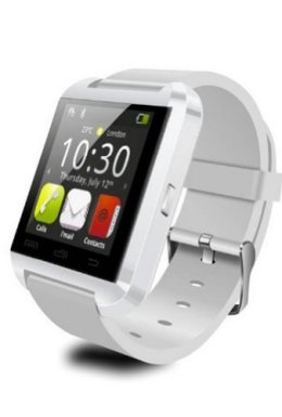 LEMFO-Bluetooth-Smart-Watch-WristWatch-U8-UWatch-Fit-for-Smartphones-IOS-Android-Apple-iphone-44S55C5S-Android-Samsung-S2S3S4Note-2Note-3-HTC-Sony-Blackberry-White-0