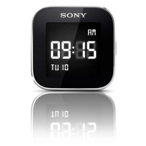 Sony Smartwatch clock function