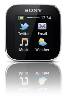 Sony Smartwatch apps menu