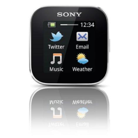 Sony Smartwatch apps menu