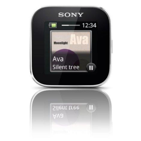 Sony Smartwatch music album art