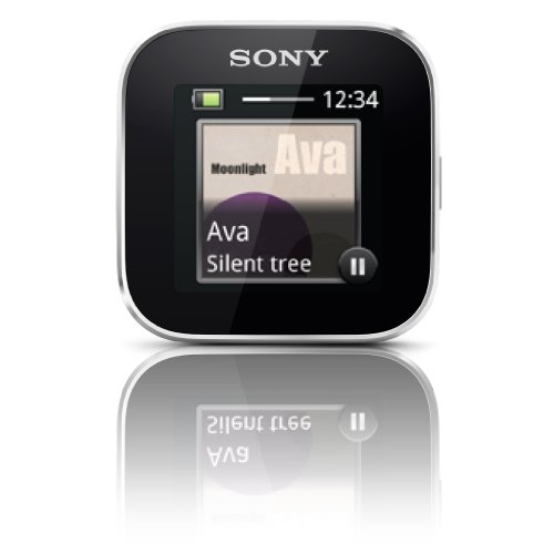 Sony Smartwatch music album art