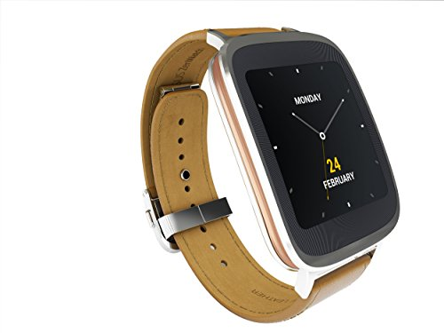 ASUS Zenwatch silver and rose gold 1