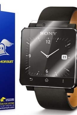 ArmorSuit-MilitaryShield-Sony-SmartWatch-2-Screen-Protector-Shield-Lifetime-Replacements-0