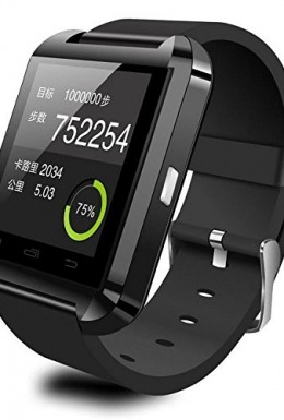 CIYOYO U8S smartwatch black