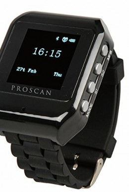 Proscan smartwatch black