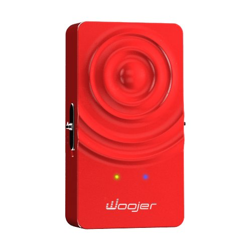 Woojer wearable sound woofer red 2