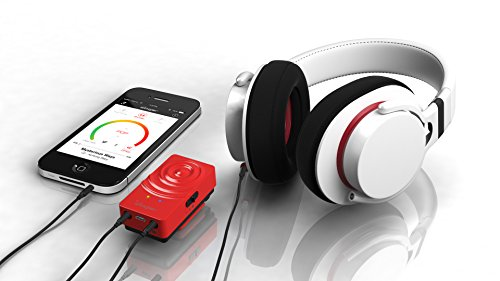 Woojer wearable sound woofer red 3