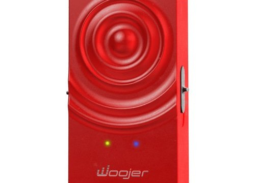 Woojer wearable sound woofer red 4