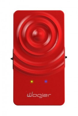 Woojer wearable sound woofer red 1