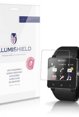 iLLumiShield-Sony-Smartwatch-2-Screen-Protector-Japanese-Ultra-Clear-HD-Film-with-Anti-Bubble-and-Anti-Fingerprint-High-Quality-Invisible-LCD-Shield-Lifetime-Replacement-Warranty-3-Pack-OEM-Retail-Pac-0
