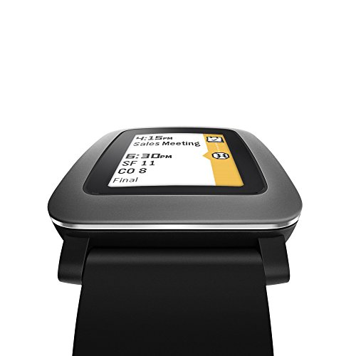Pebble Time smartwatch black 5