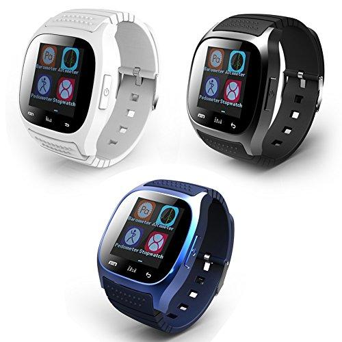 Soyan M26 Bluetooth Smart Wrist Watch (Black)
