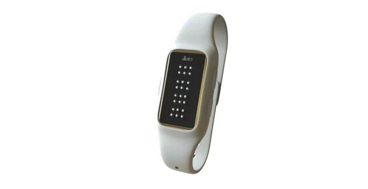 DOT active braille smartwatch