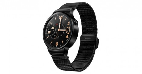 Huawei Watch black front