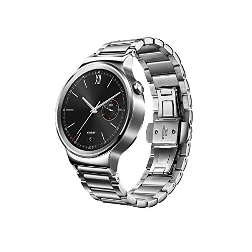 Huawei Watch with stainless steel band 2