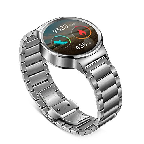 Huawei Watch with stainless steel band 4