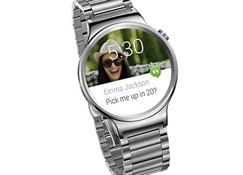 Huawei Watch with stainless steel band 5