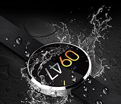 Luxsure DM360 Waterproof Bluetooth Smartwatch (Silver)