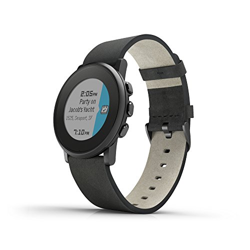 Pebble Time Round Black 3