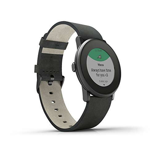 Pebble Time Round Black 4