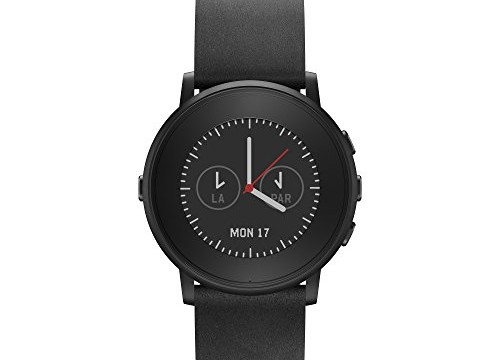 Pebble Time Round Black 1