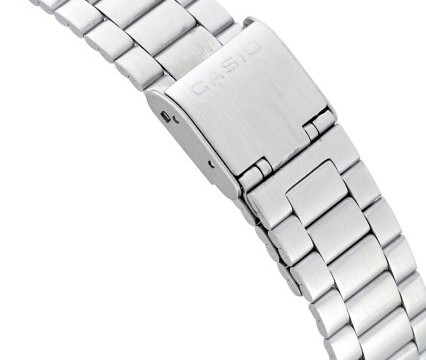 Casio Illuminator steel clasp