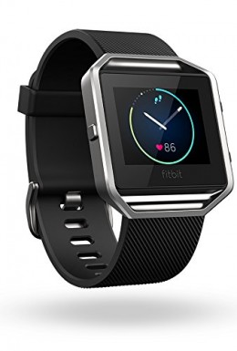 Fitbit Blaze analogue clock