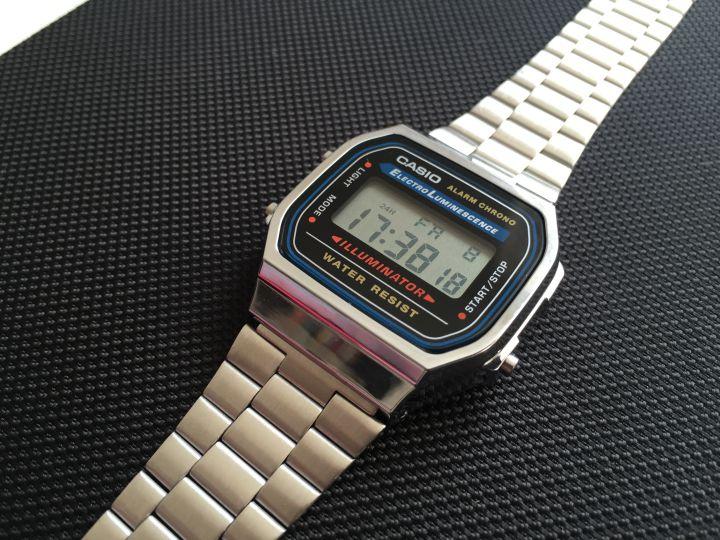 Casio retro watch A168 01