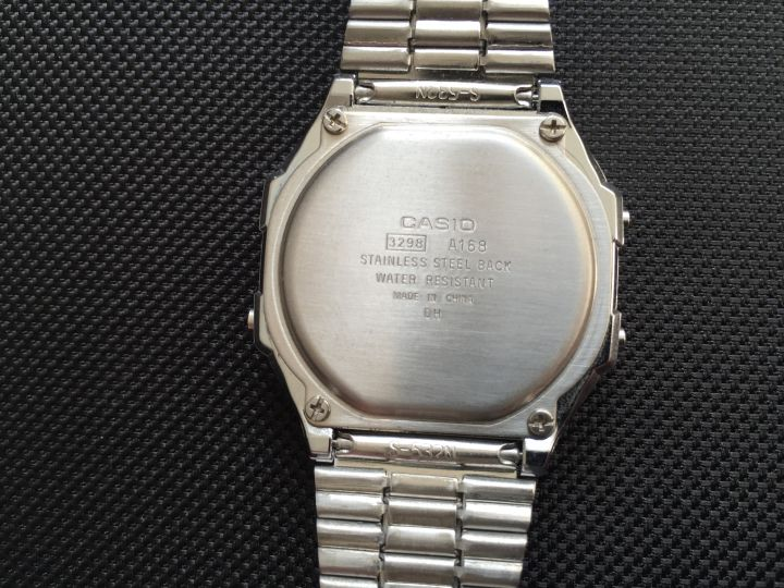 Casio retro watch A168 04