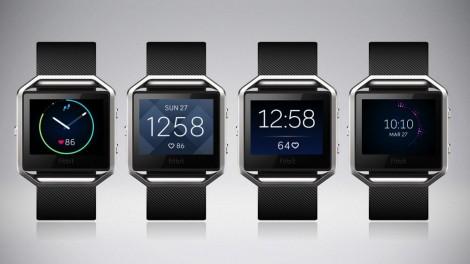 Fitbit Blaze clock faces