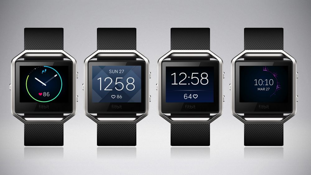 Fitbit Blaze clock faces