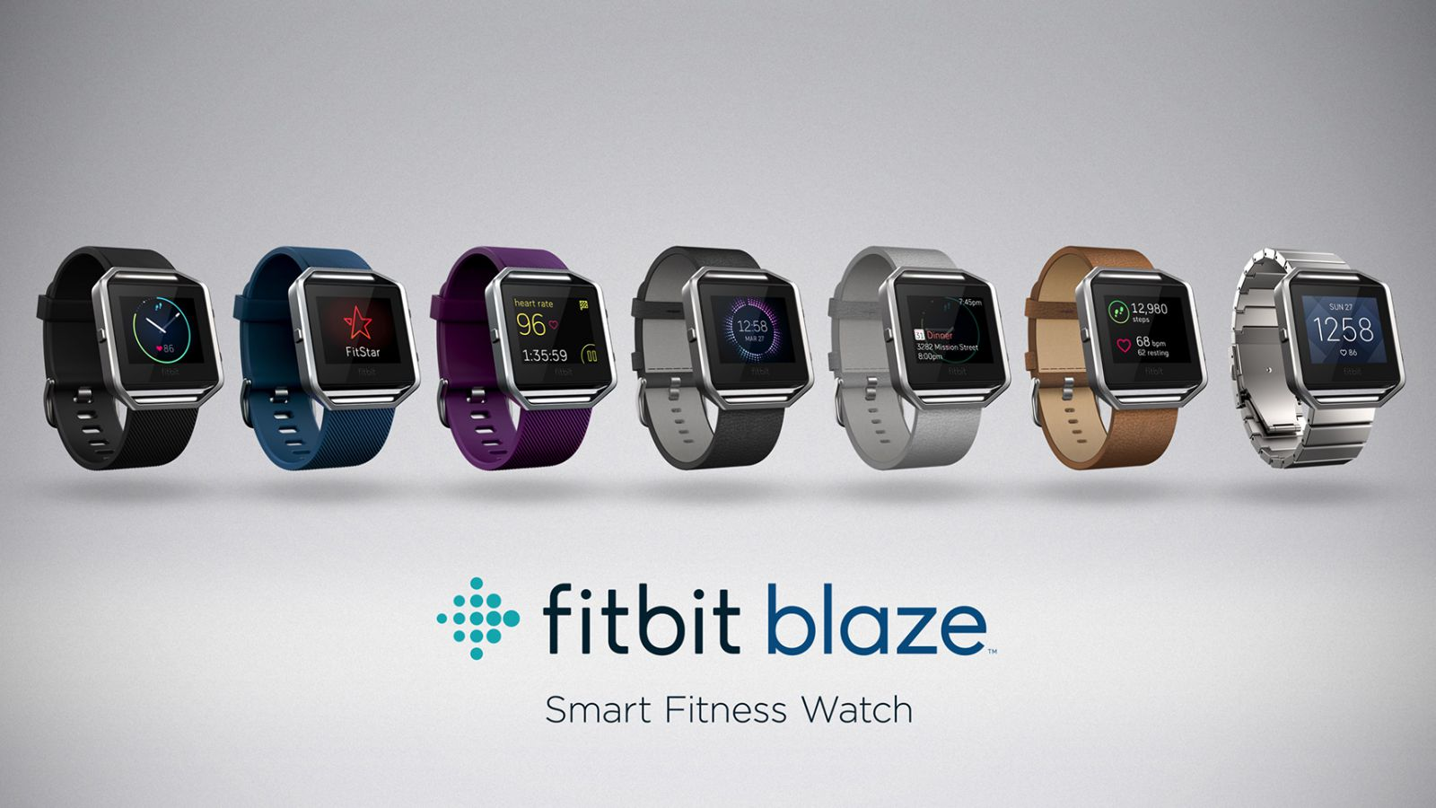 Fitbit Blaze product lineup