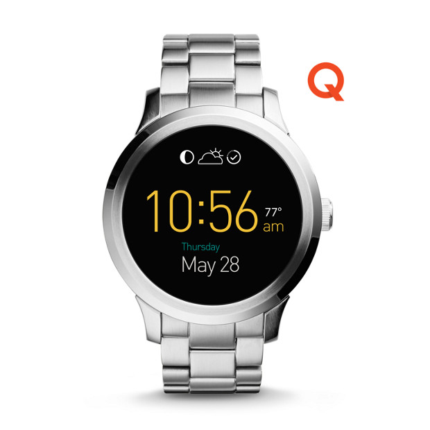 Fossil Q Founder clock face