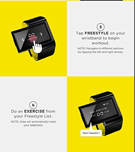 Atlas Wristband Digital Trainer 10