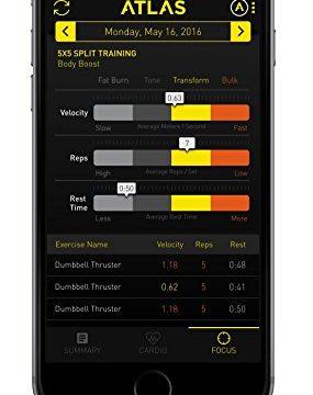 Atlas Wristband Digital Trainer 14