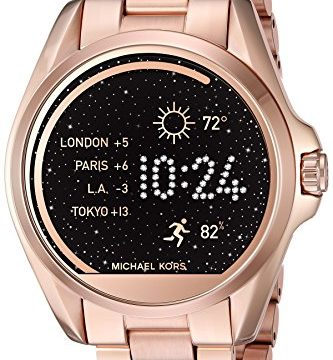 3e1554be8e91 Michael Kors Access Bradshaw Rose Gold Smartwatch
