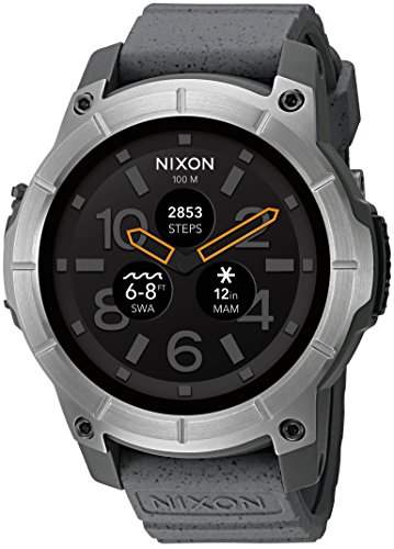 71fe6c43059 Nixon Mission Smartwatch Grey - Reviews   Shop