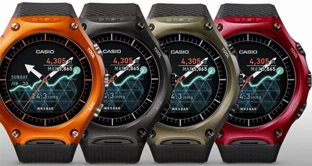Casio WSD F10 colors
